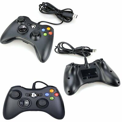 USB Wired Joypad Gamepad Controller For Microsoft For Xbox 360 PC Windows 7 TU