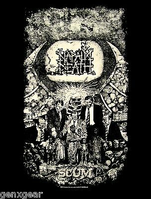 NAPALM DEATH cd cvr SCUM Official SHIRT Size XXL 2X new