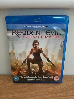 Resident Evil: The Final Chapter Blu-ray (2016)