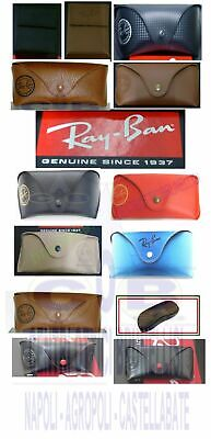 Ray Ban Case Etui Box Astuccio Fodero Genuine