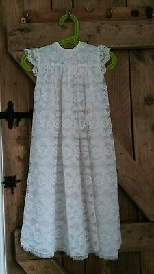 vintage Baby Christening Gown - ideal Doll / Teddy Collector
