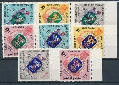 [73541] State of Upper Yafa South Arabia Olympic Games good set VF MNH stamps