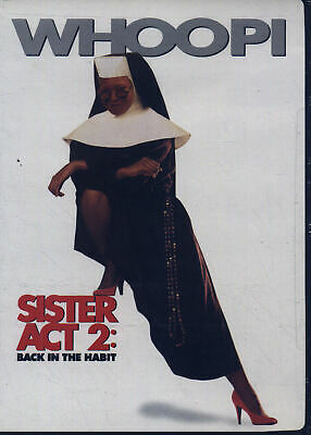 Sister Act 2: Back in the Habit (DVD, 2000) WS New Free Ship #0619DOS