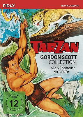 Tarzan - Gordon Scott Collection * DVD Tarzan-Abenteuer Pidax