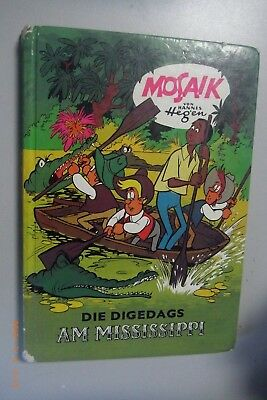 Mosaic by Hannes Hegen ~ Die Digedags Am Mississippi ~ Publisher Young World