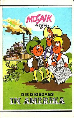 Die Digedags in America (Mosaic by Hannes Hegen ) Publisher Young World