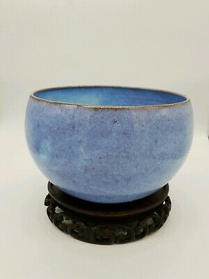 Antique Chinese Blue Bowl