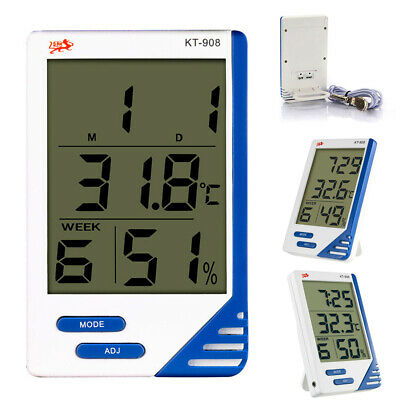 Indoor Outdoor Hygrometer Thermometer Temperature Humidity Home