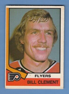 1974-75 O-Pee-Chee Opc #357 - Bill Clement Rookie