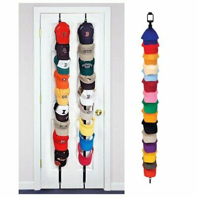 New Baseball Cap Rack Hat Holder Rack Home Organizer Storage Closet Hanger  TU