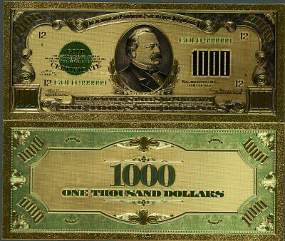 Home Decor Posters Prints Grover Cleveland 1000 Bill
