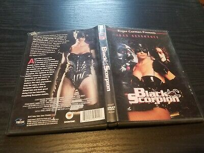 Black Scorpion DVD 2003 (1995 Movie) RARE OOP DISC LIKE NEW