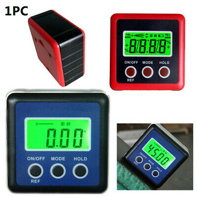 Bevel Angle Level Box Protractor Finder Inclinometer LCD Magnetic Digital