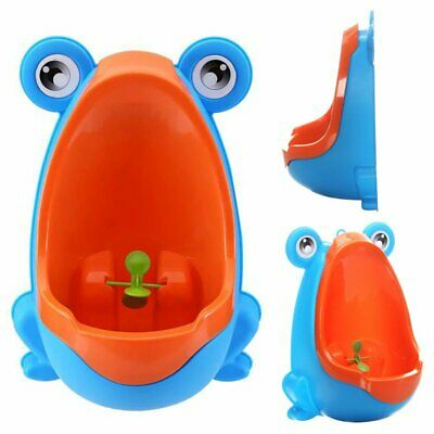 Kids Baby Toddler Boy Frog Potty Urinal Pee Toilet Travel Home Train Trainer TU