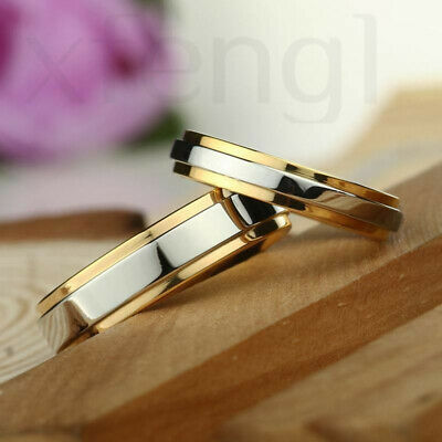 Luxury ring 316L stainless steel wedding gold-plated engagement jewelry ring