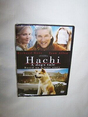 Hachi: A Dog's Tale (DVD 2010) Richard Gere, Joan Allen; New/Sealed