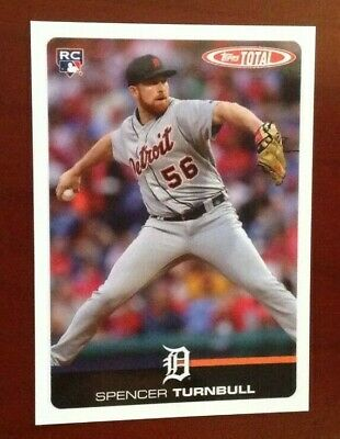 2019 Topps Total Wave 4 (Limited Print Run) #363 SPENCER TURNBULL Tigers
