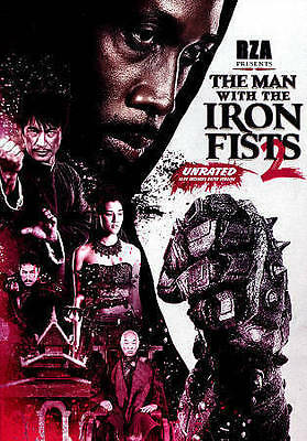 The Man with the Iron Fists 2 (DVD, 2015)