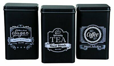 Out of the blue Finest Selection - Latas Rectangulares, de café, té y azúcar