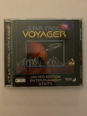 Star Trek Voyager Limited Edition Entertainment Utility PC CD-ROM 1996 Windows