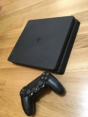 PS4 Sony PlayStation 4 Slim, 500 GB Konsole, inkl. Controller + FIFA 2017