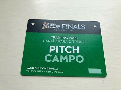 Uefa Nations League Finals Portugal 2019 Official Training Pitch Pass 04/06/19