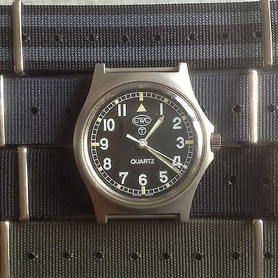 Genuine CWC G10 British Army issued watch 2006 inc new strap in choice of colour
