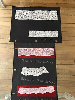 Antique Lace - 18Thc. Binche Lace,Mechlin, Brussels  Lace Examples