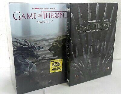 Game of Thrones complete 1-8 dvd Free Shipping