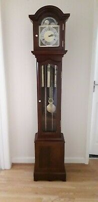 Grandfather Clock By Thomas Byrne Westminster Moonphase Weight Driven Classic