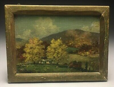 "Original James Calvert Smith "" Hills Of Home"" Salisbury Connecticut Oil Painting"