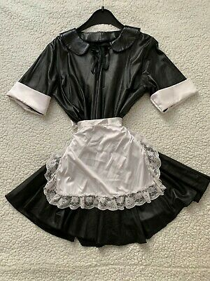 Cottelli Wetlook Maid Costume - size M - Rare