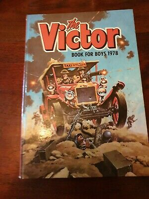 The Victor Book for Boys 1978 (Annual), D C Thomson, used Condition