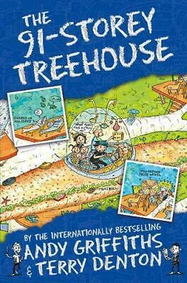 The 91-Storey Treehouse by Andy Griffiths Paperback NEW Book