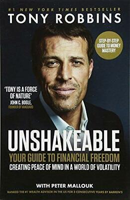 Unshakeable by Tony Robbins and Peter Mallouk Paperback NEW Book