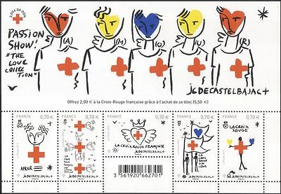 France 2016 Red Cross/Medical/Health/Welfare/Castelbajac/Artists 5v m/s (n45654)