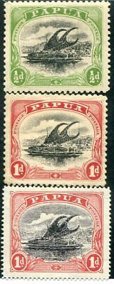 PAPUA NEW GUINEA  Very Nice Mint Hinged Early Values  UPTOWN 50879