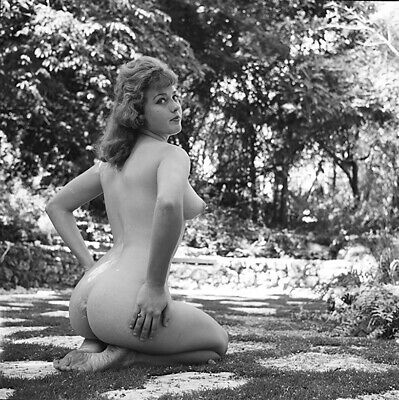 1950s Bunny Yeager Archive Original Camera Negative Photograph CINDY LEE Pin Up