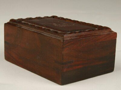 Wood Handmade Carving Jewelry Gift Box Decoration Practical Collection