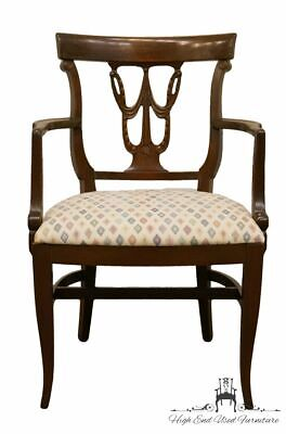 High End Federal Style Mahogany Dining Arm Chair