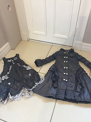 Pom Pom Girls Spanish Set Jacket And Dress Age 7-8 128cm Rrp £225