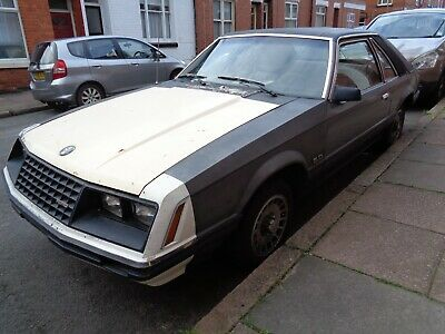 ford mustang fox body 1979 79 5.0 v8 retro muscle car running but needs work