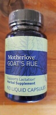 Motherlove Goats Rue Herbal Breastfeeding Supplement for Lactation Support 60