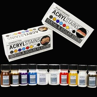 Acrylstains Character For Coloring Fake Teeth, Premiere Products Inc