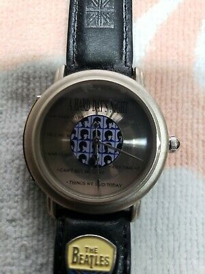Beatles hard days night watch limited addition brand new never worn 1993 & tags