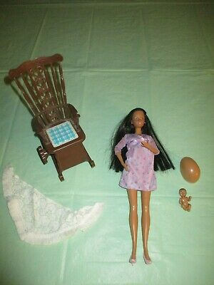 Happy Family AA Pregnant Midge w/ Baby & BellyVintage Musical Rocking Rocker