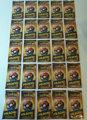 2019 Pokemon Detective Pikachu Lot Of 25 - 2 Card Limited Movie Promo Packs