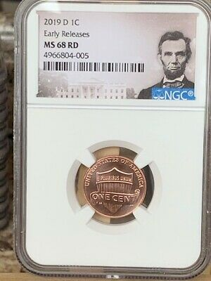 2016 D Lincoln SHIELD Cent 1c NGC MS 67 RD Lincoln Label