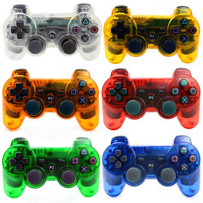For PS3 Playstation 3 dualshock 3 wireless bluetooth controller sixaxis gamepad