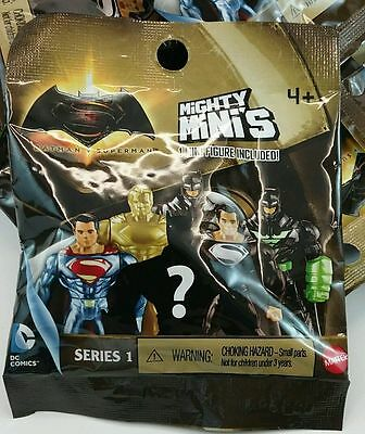 1Figure Series 1/&2 Batman vs Superman Mighty Mini/'s DC Comics Mystery Pack